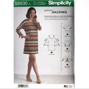 Simplicity S8930 Knit Top Sewing Pattern Kit